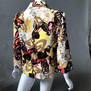 R.Q.T Jackets & Coats - Abstract Print Blazer by R.Q.T